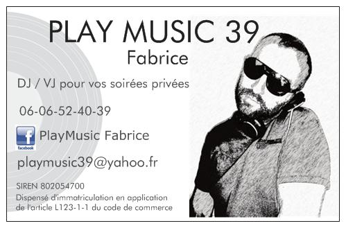 Playmusic39 Logo
